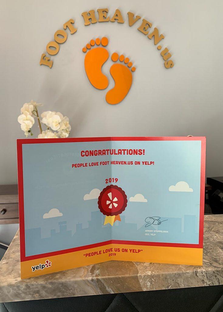 Yelp Award - 2019